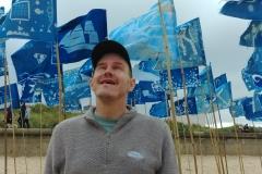 Blue Flag on Blyth Beach - photo by Headway Arts