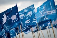 Blue Flag, Blyth Beach - photo by Jason Thompson, Sound Ideas