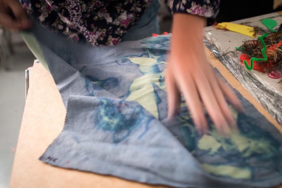 Blue Flag workshop - photo by Jason Thompson, Sound Ideas