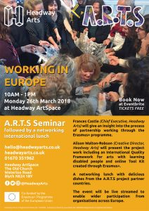 A.R.T.S Seminar - Working in Europe