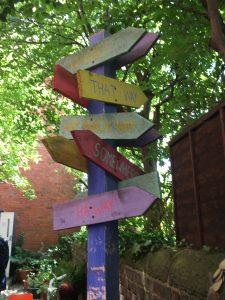 Headway Arts Sensory Garden Opening