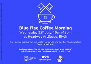 Blue Flag Coffee Morning
