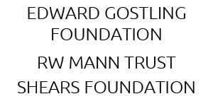 Edward Gostling Foundation – RW Mann Trust – Shears Foundation